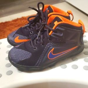 "Nike Lebron 12 ""Instinct"" in toddler size 10c"